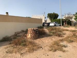 Obras de construcción de una pasarela accesible en la Urbanización Doña Ines de Torrevieja