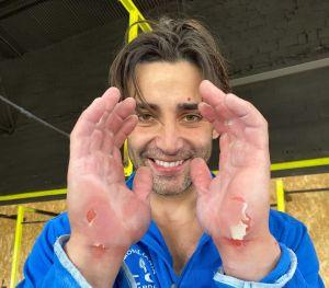 Alejandro Soler bate el récord mundial de máximos ring muscle en 24 horas