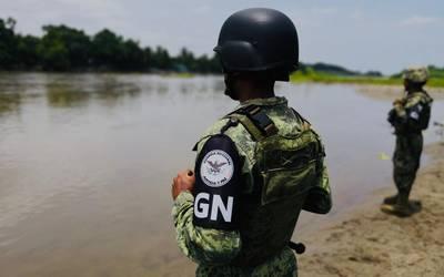 """Resultado de imagen de guardia nacional prepara contra migrantes"""""""