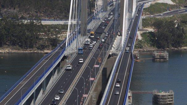 Audasa prevé concluir los trabajos en el puente de Rande la próxima semana