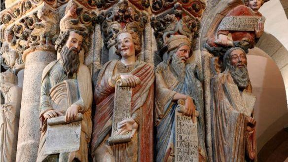 Risultati immagini per portico de la gloria restaurado