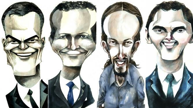 Resultado de imagen para Caricaturas de Pedro Sánchez,