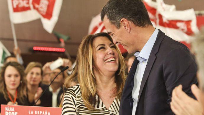 Pedro Sánchez ofreció a Susana Díaz la Presidencia del Senado