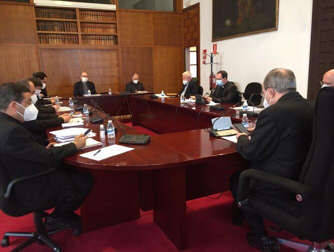 Reunión del Consejo Episcopal de la Archidiócesis de Sevilla este miércoles.