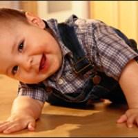 El gateo en los bebes