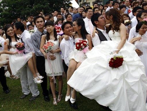 boda masiva