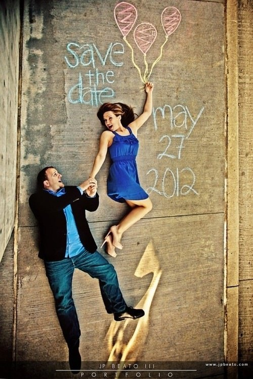 ideas para el save the date