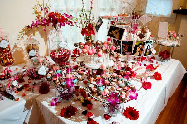 cupcake buffet