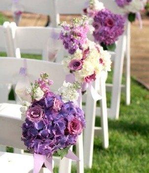 Decoración boda (sillas)