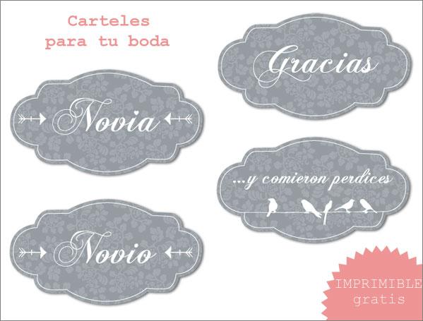 Imprimibles: Flechas Señalizadoras - Diario de una Novia