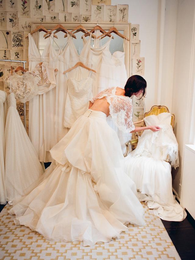 prueba de vestido de novia