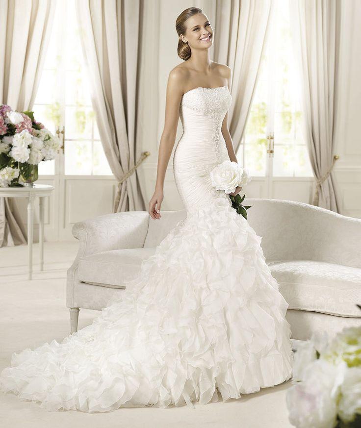Blog de bodas Vestido de Novia Davinia Pronovias 2013
