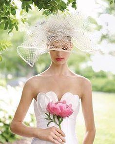 Como elegir el tocado de novia