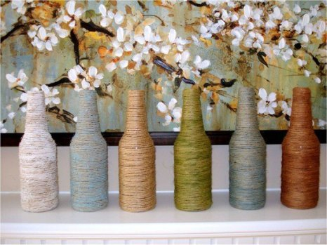 yarn-wrapped-vases