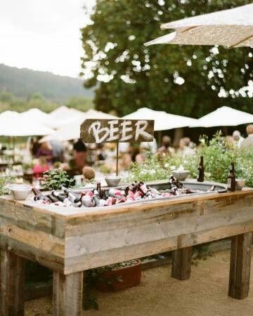 cerveza en boda