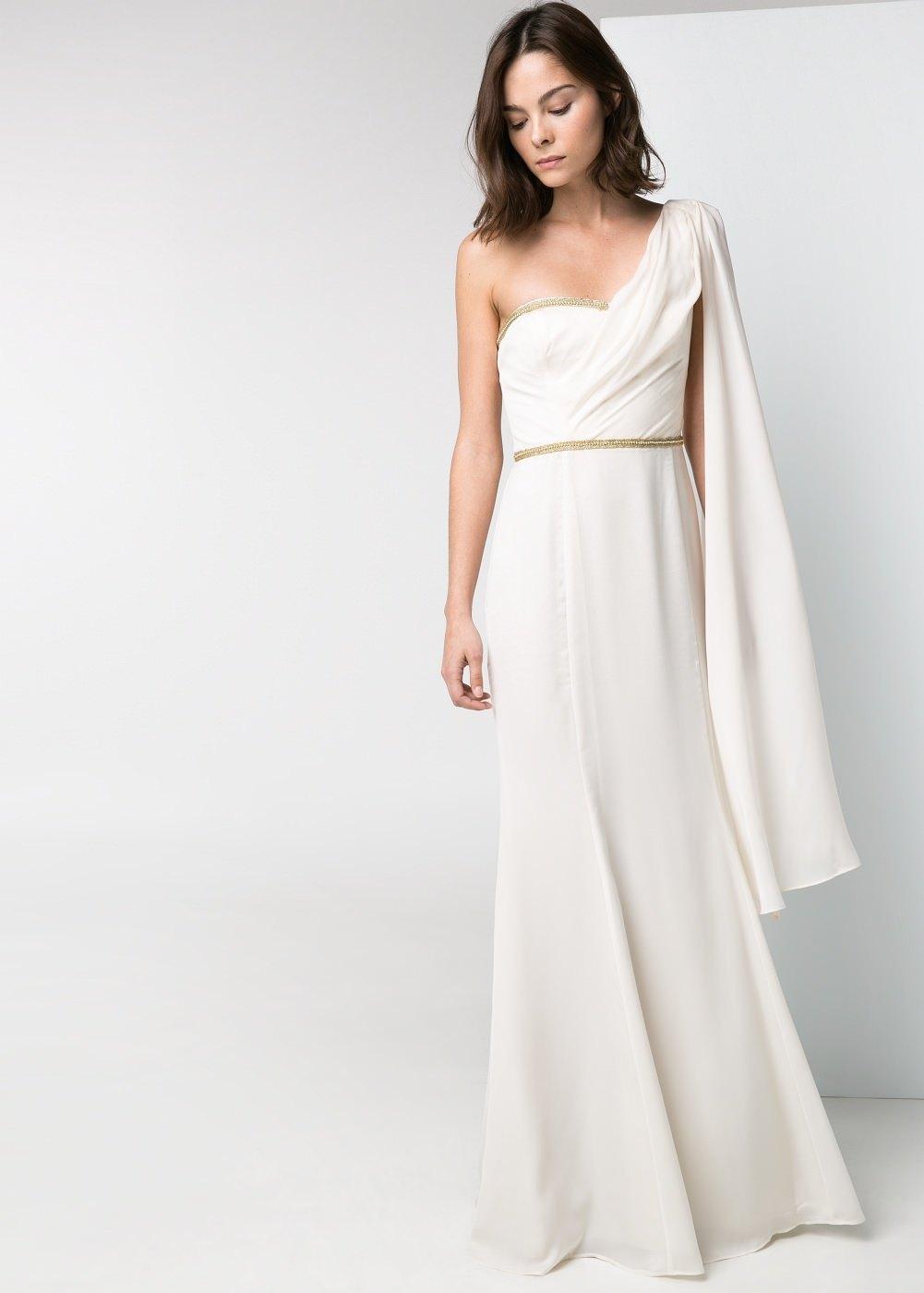 Vestidos de novias sencillos y baratos cortos