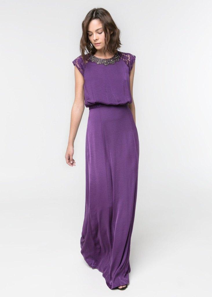 Vestido color lila 89.99€