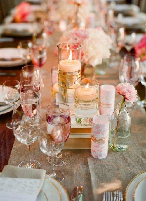 ideas para centros de mesa