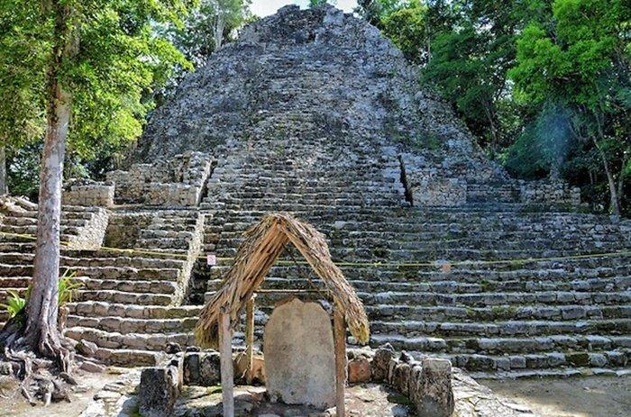 rivera maya coba ruins