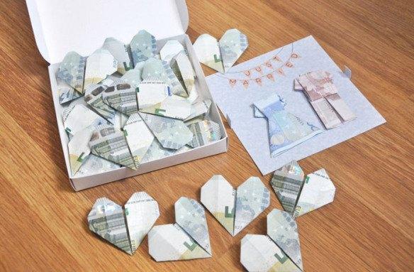como regalar dinero