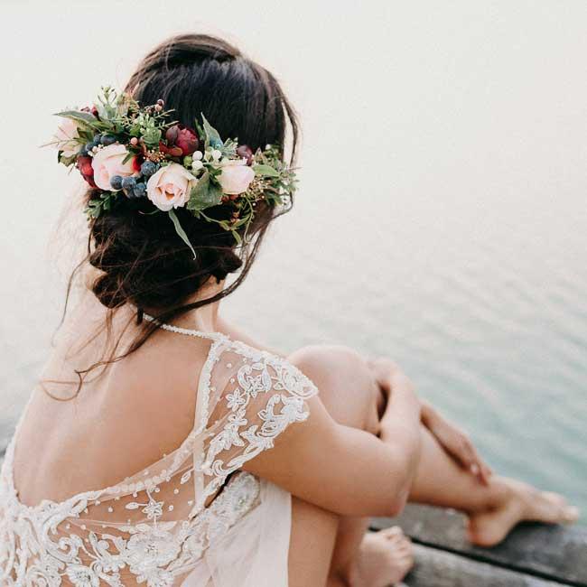 Peinados para bodas desenfadados para invitadas y novias (5)