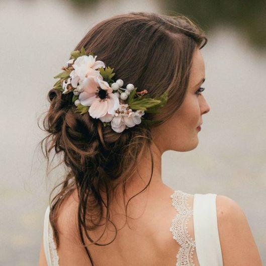 Peinados para bodas desenfadados para invitadas y novias (6)