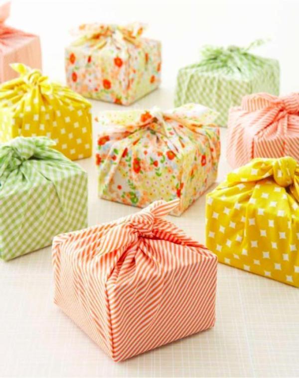 ideas para envolver regalos con tela