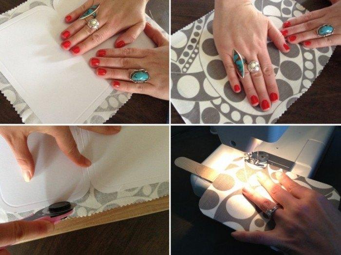 Como hacer pai pais para bodas de tela: tutorial de pai pais