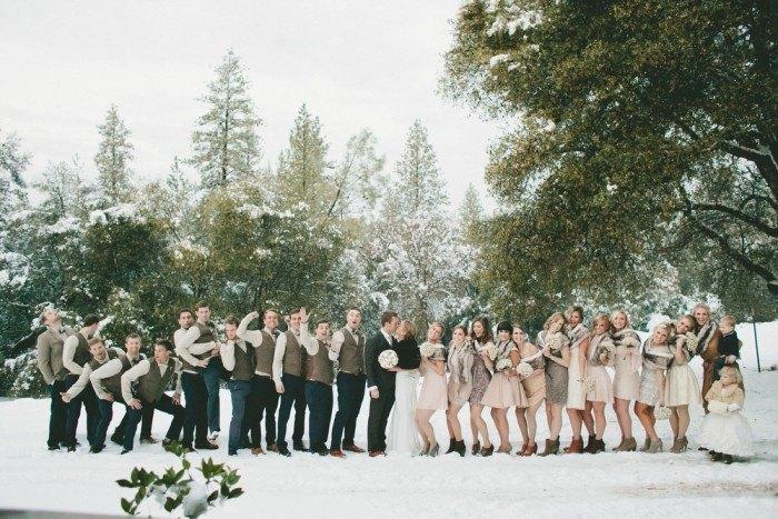 Boda en la Nieve invitados