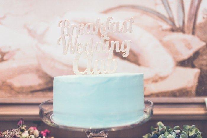 Wedding Breakfast Club tarta
