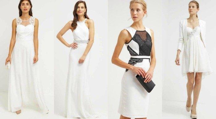 vestido de novia zalando