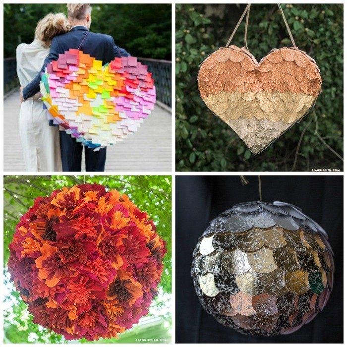 Como hacer una piñata para bodas
