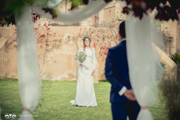 Boda de destino en Toscana ceremonia novia - Editorial con aires a la toscana