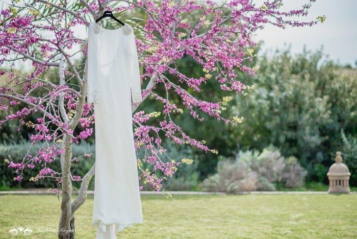 Boda de destino en Toscana vestido de novia - Editorial con aires a la toscana