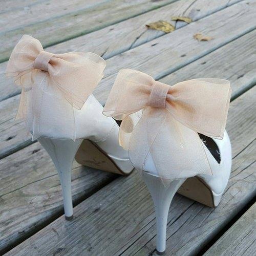 clips para zapatos de novia