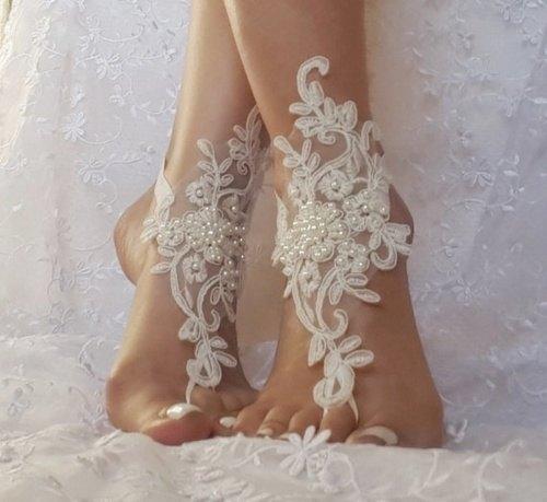 sandalias de playa para novias