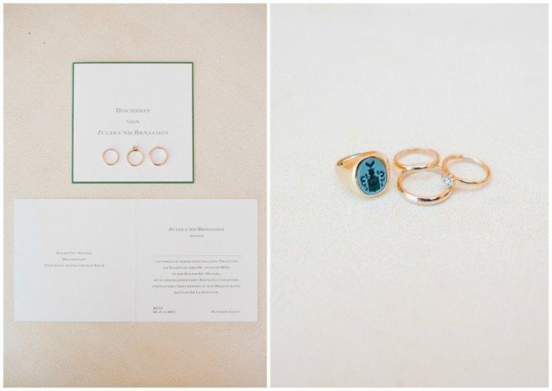 detalles cote d'azur wedding