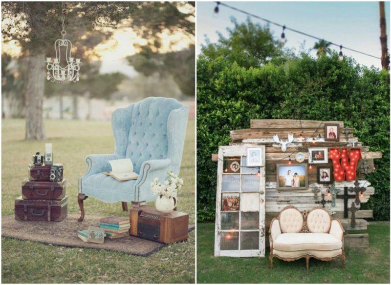 photocall vintage para bodas