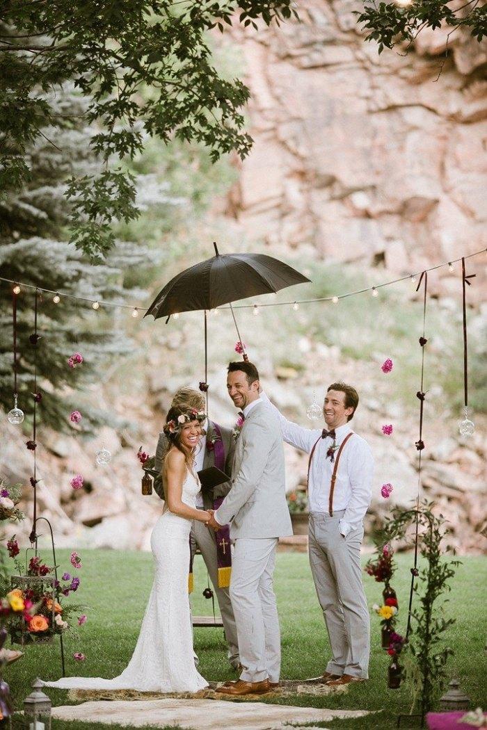 lluvia con boda - las supersticiones de una boda