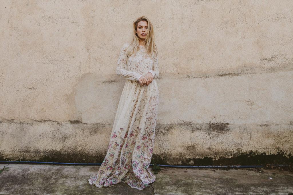 Vestido de Novia Bohemio Immacle Tanger 1