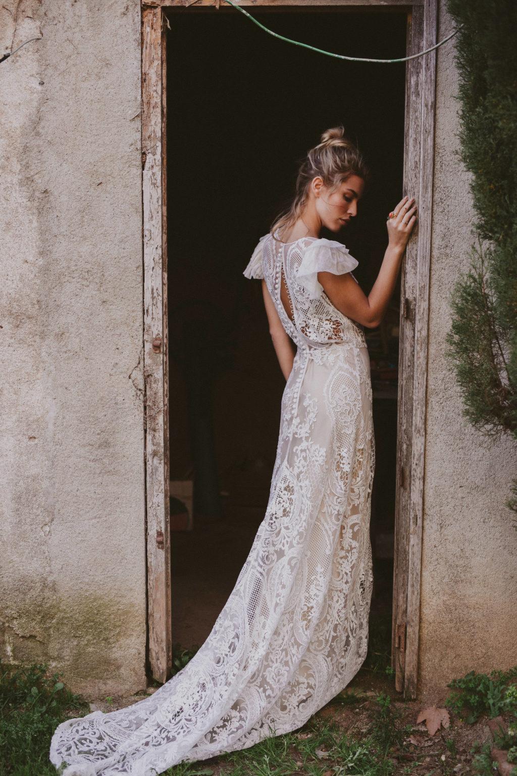 Vestido de Novia Bohemio Immacle Tanger 24