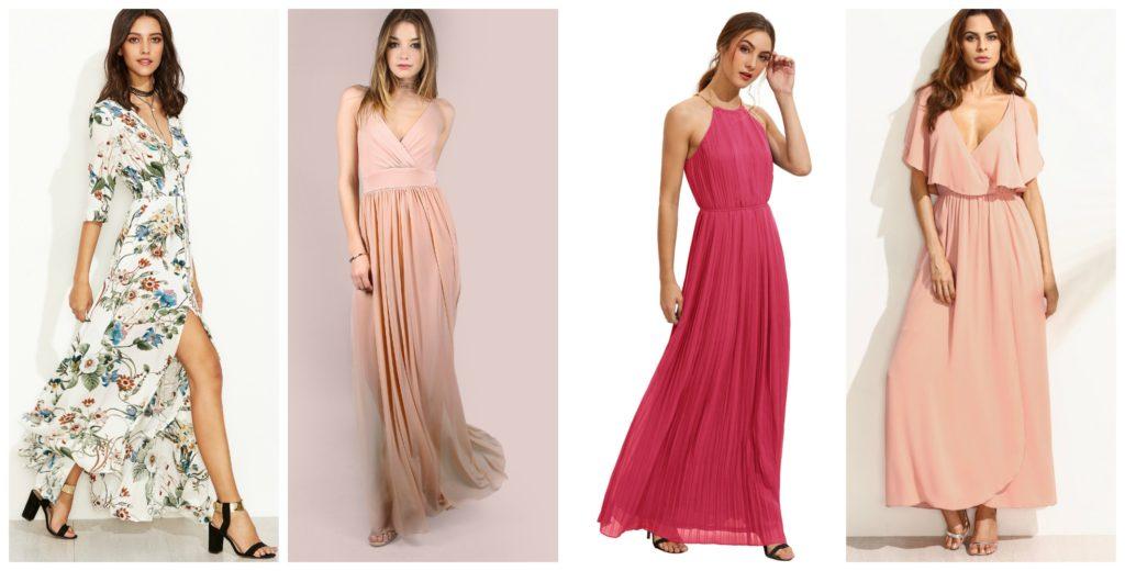 vestido de fiesta baratos largos de shein