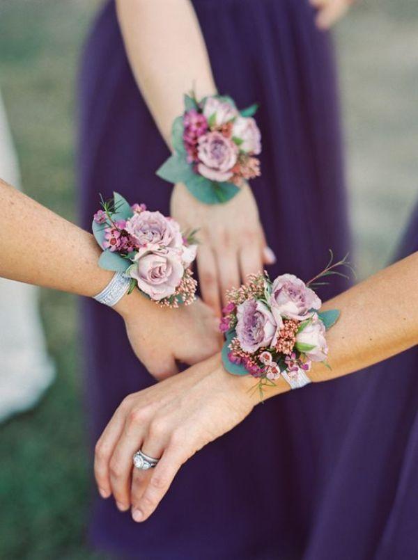 flores para damas de honor