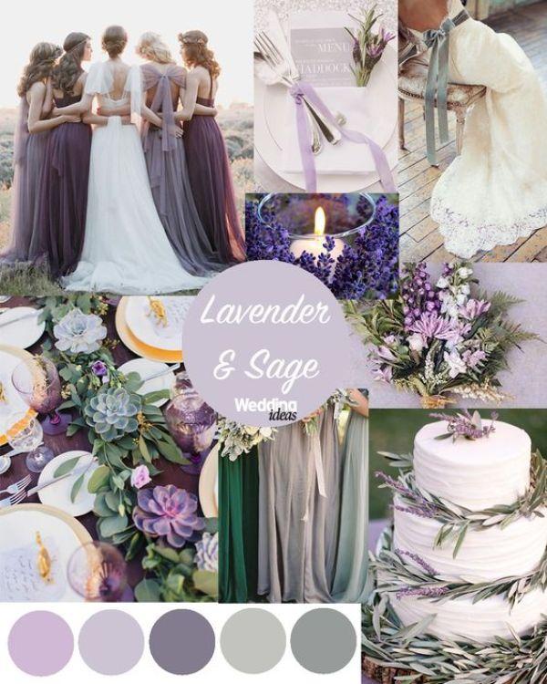 colores para tu boda lila