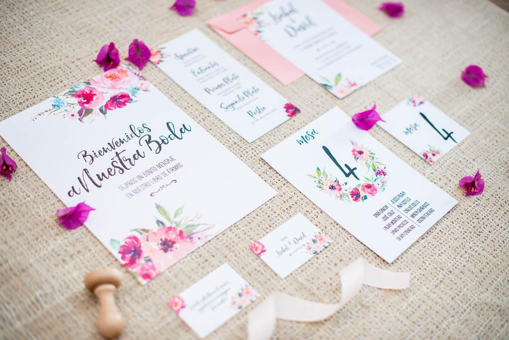 papelería para bodas para imprimir