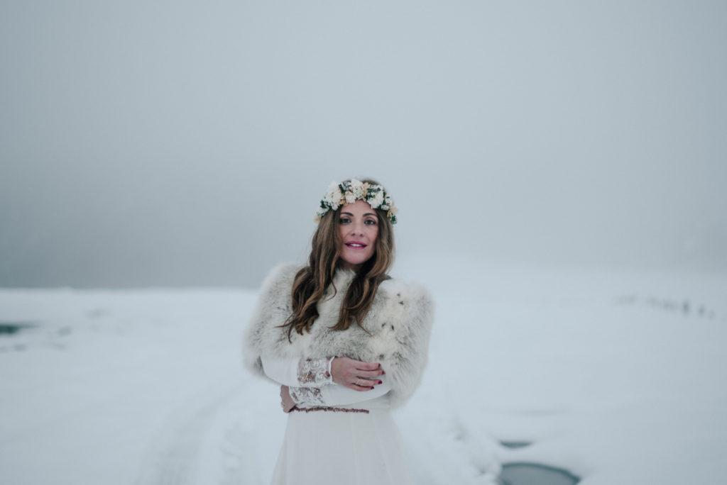 postboda en la nieve Tania y Rober 12 - Postboda en la Nieve del Valle de Arratia