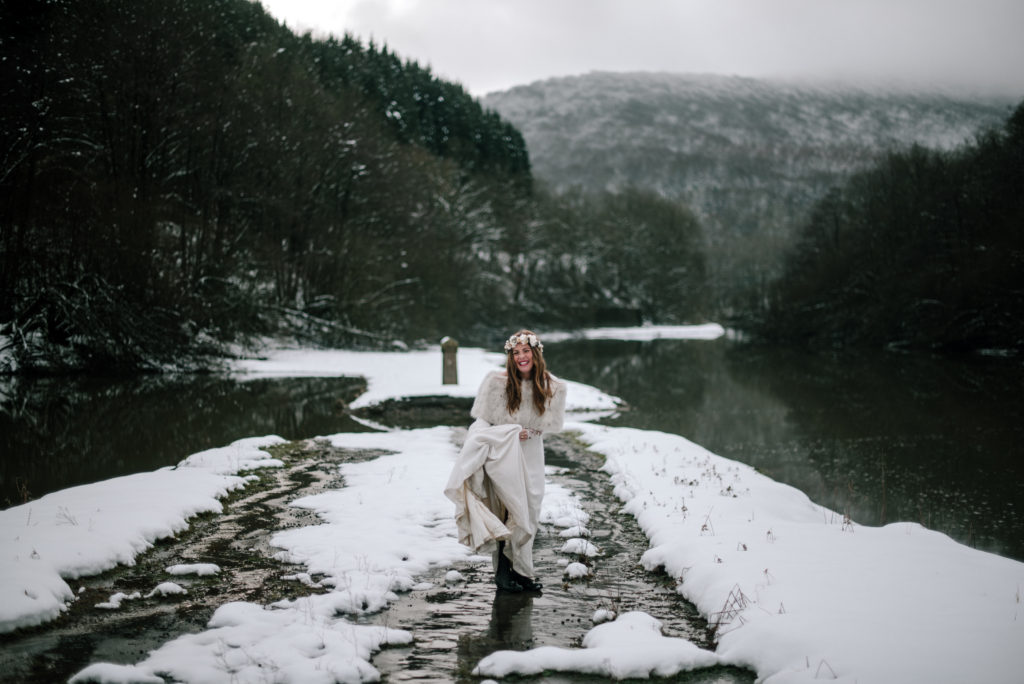 postboda en la nieve Tania y Rober 18 - Postboda en la Nieve del Valle de Arratia