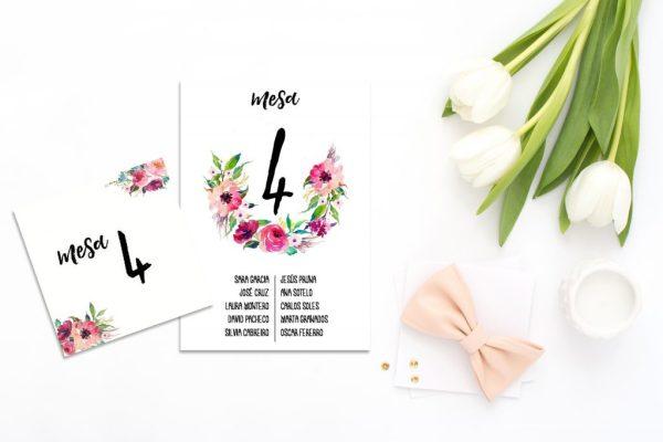 Seating Plan Oh Fleur 1 - Meseros y Seating Plan Oh Fleur