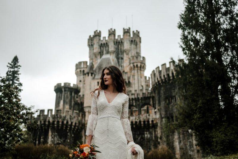 Pia Alvero fotografia editorial Castillo de Butron 45 - The Unfettered Bride