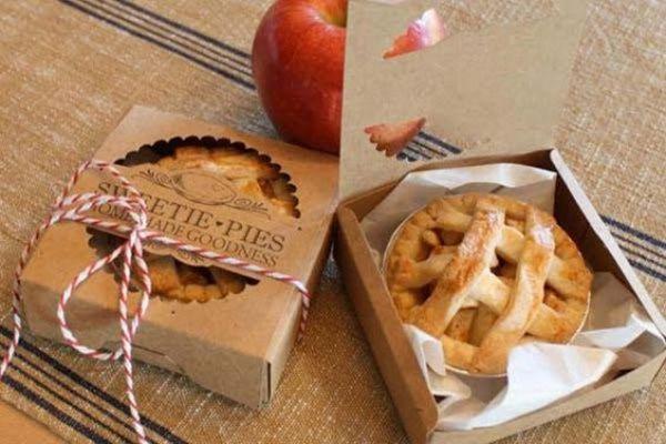 Regala dulces como estas tartas de manzana
